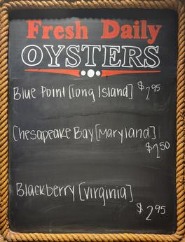 Daily Fresh Oysters